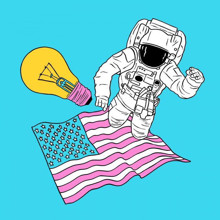 S05E05: Ruimte, Amerika, creativiteit