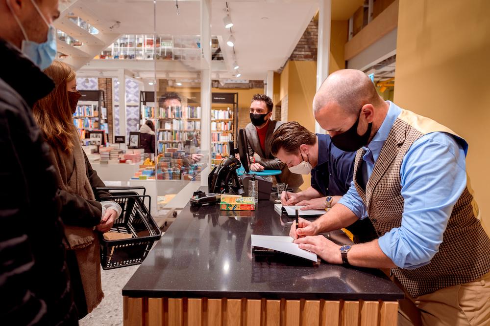 Laat je boek signeren